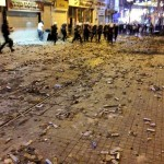 Massive Quantities of Tear Gas Canisters in Turkey